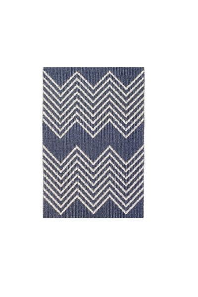 Indoor / Outdoor Teppich Brita Sweden Mono azure / blau (Läufer)