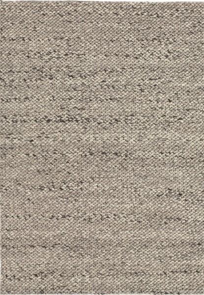Kurzflor Designer Teppich Angelo Waves 8091-56 hellgrau