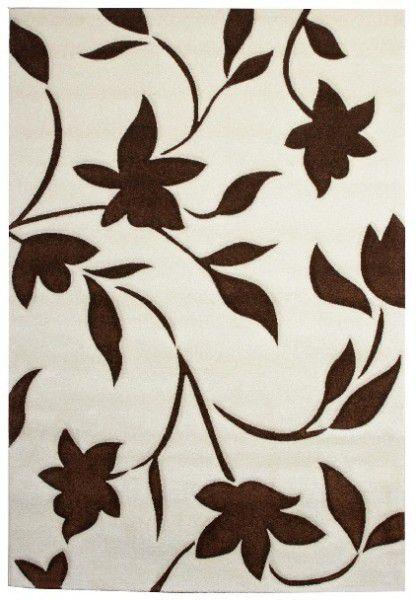 Kurzflor Designer Teppich California 97-540 beige braun