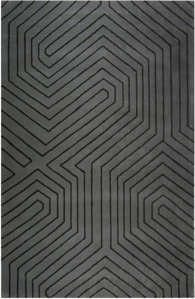 Kurzflor Designer Teppich Esprit Raban ESP-4183-01 grau