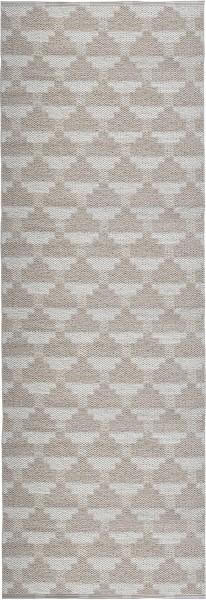 Indoor / Outdoor Teppich Brita Sweden Confect vanilla / silber grau (Läufer)