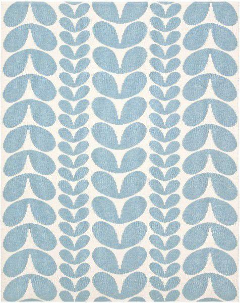 Indoor / Outdoor Teppich Brita Sweden Karin blau (Medium)