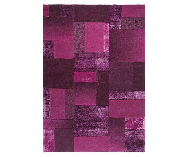 Teppich Esprit Patchwork ESP-2827-02 purple / lila