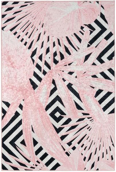 Kurzflor Designer Teppich Obsession Exotic 214 powder pink / rosa