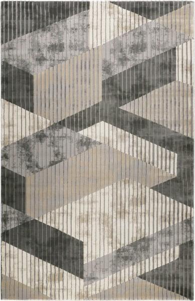 Kurzflor Designer Teppich Esprit Tamo ESP-5199-095 grau