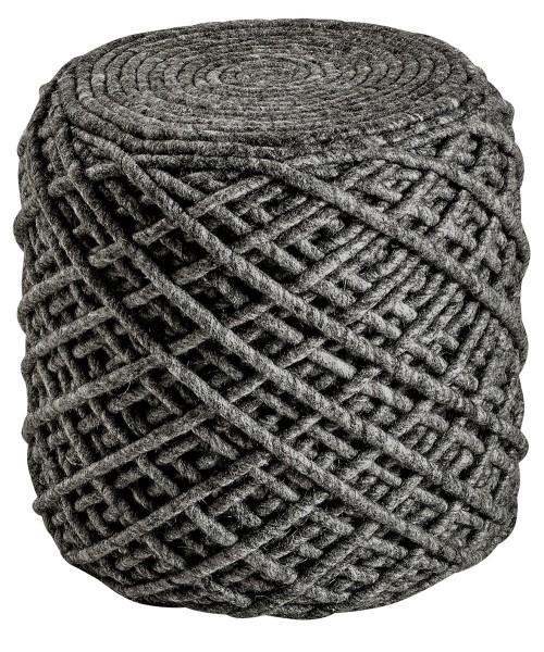 Sitzkissen / Hocker Obsession Pouf Royal 888 graphite / grau