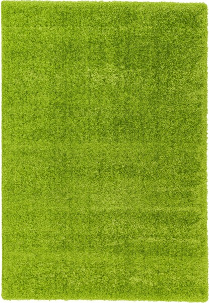 Hochflor Shaggy Teppich Astra Matera 180 035 grün