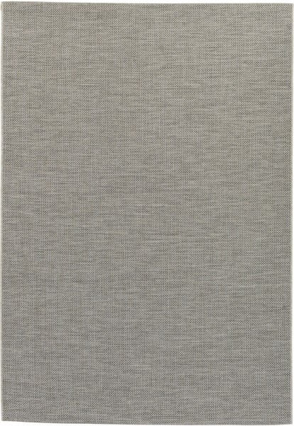 Indoor / Outdoor Teppich Astra Rho 190 004 silber