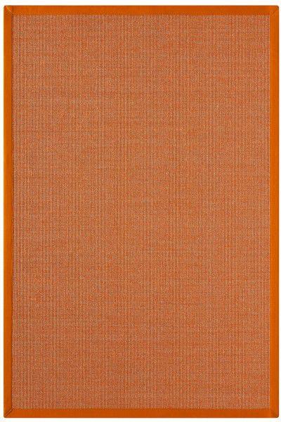 Sisal Teppich Astra Manaus terracotta / lachs 55