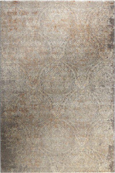 Kurzflor Designer Teppich Wecon Home Baroque Vintage WH-17305-096 grau