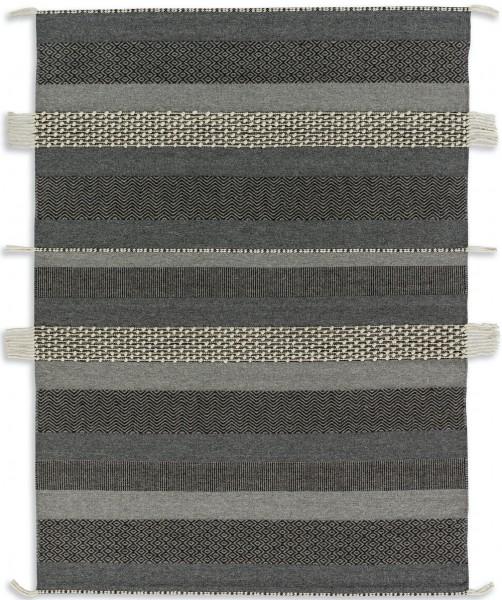 Kurzflor Designer Teppich Schöner Wohnen Botana 6021 192 040 grau