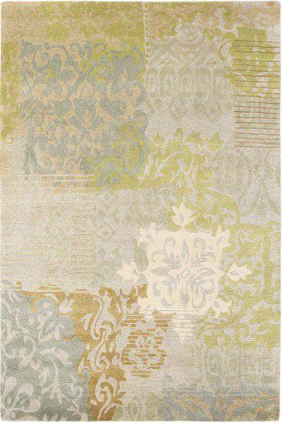 Kurzflor Designer Teppich Brink & Campman Yara Venice 196207 beige grün