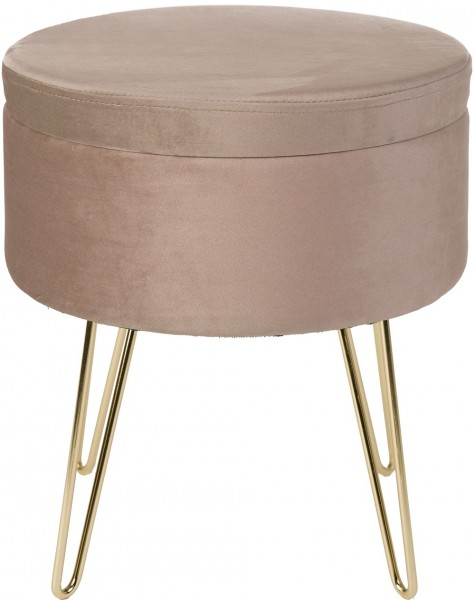 Hocker / Tisch / Ablage Obsession Glamour Stool 222 beige