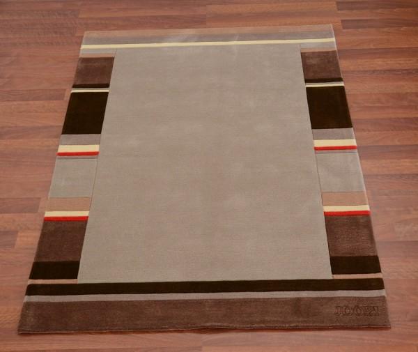 Teppich Joop Design Exklusiv Grau Braun Raum Quadrat Fashion