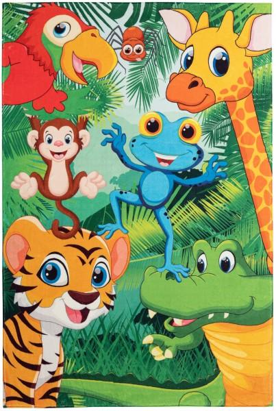 Kinder Teppich Obsession Juno 471 Jungle multicolor