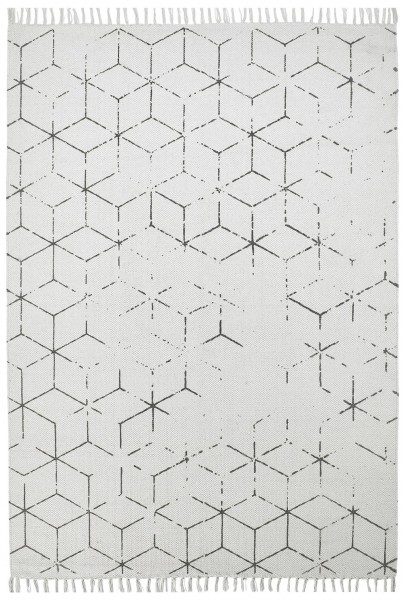 Kurzflor Designer Teppich Obsession Stockholm 342 grau
