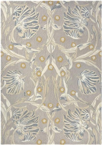 Kurzflor Designer Teppich Morris & Co Pure Pimpernel 028701 Linen taupe
