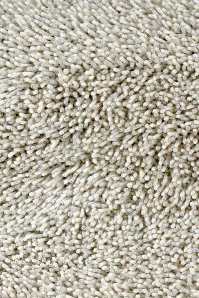 Hochflor Shaggy Teppich Brink & Campman Gravel Mix 68209 silber weiss