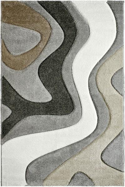 Kurzflor Designer Teppich Obsession Acapulco 680 silber