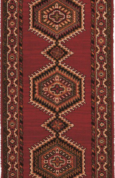 teppich brink campman l ufer sultan 10706 rot raum quadrat fashion your room der. Black Bedroom Furniture Sets. Home Design Ideas