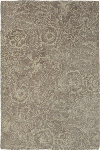 Teppich Morris & Co Poppy 28405 taupe