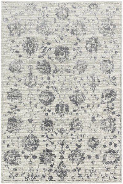 Teppich Schöner Wohnen Brilliance 184 040 Blumen grau