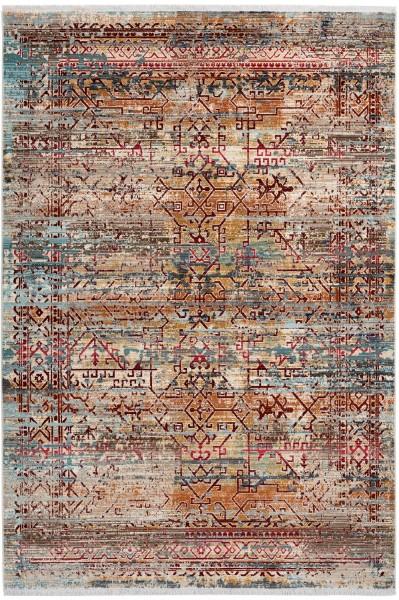 Kurzflor Designer Teppich Obsession Inca 356 multicolor