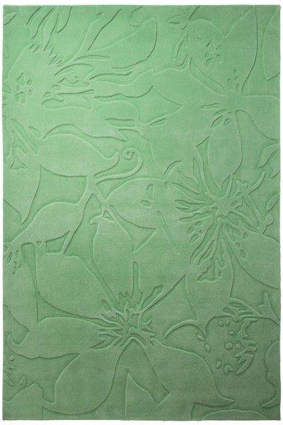 Kurzflor Designer Teppich Esprit Lily ESP-3800-07 grün