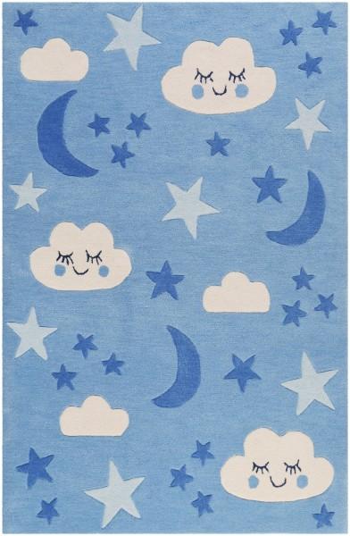 Kinder Teppich Smart Kids LaLeLu SM-4291-01 blau