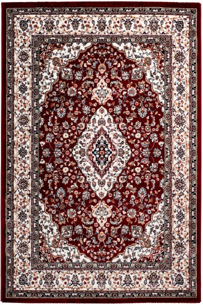Kurzflor Designer Teppich Obsession Isfahan 740 rot