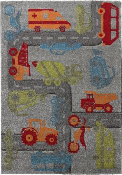 Kinder Teppich Sigikid Traffic SK-21967-096 grau