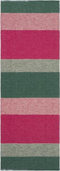Indoor / Outdoor Teppich Brita Sweden Seasons roses / rosa grün (Läufer)