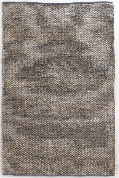 Teppich Tom Tailor Smooth Comfort Braid naturblau 160 x 230 cm