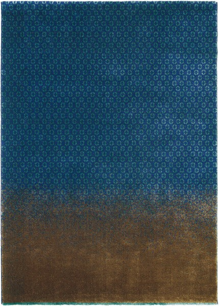 Teppich Ted Baker Dipgeo 58408 blau beige