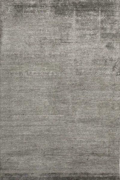 Kurzflor Designer Teppich Angelo Silky 3059-57 grau