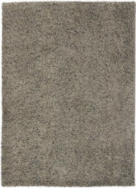 Hochflor Shaggy Teppich Brink & Campman Quartz 067105 taupe grau