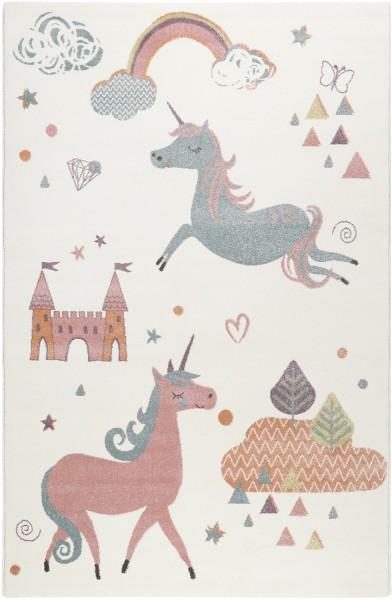 Kinder Teppich Esprit Sunny Unicorn ESP-21974-060 weiss