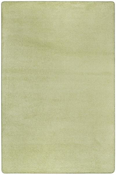 Kurzflor Designer Teppich Luxor Living Lisburn hellgrün