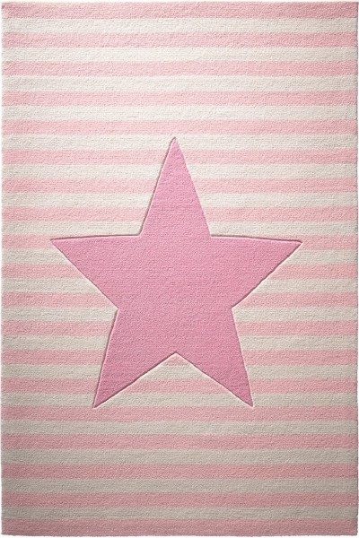 Kinder Teppich bellybutton My little Star BB-4214-02 rosa creme