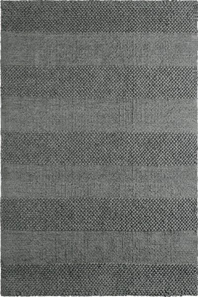 Kurzflor Designer Teppich Obsession Dakota 130 gainsboro / silber