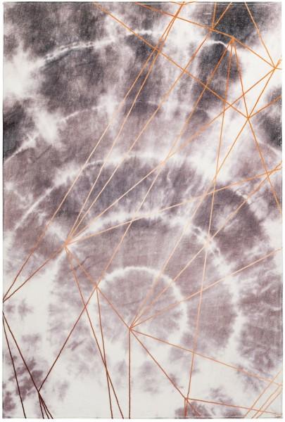 Kurzflor Designer Teppich Obsession Batik 155 taupe