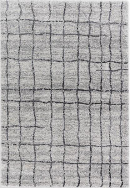 Hochflor Shaggy Teppich Astra Savona 193 005 grau