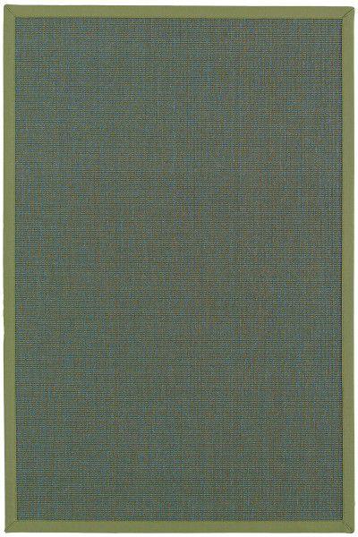 Sisal Teppich Astra Salvador blau grün 36