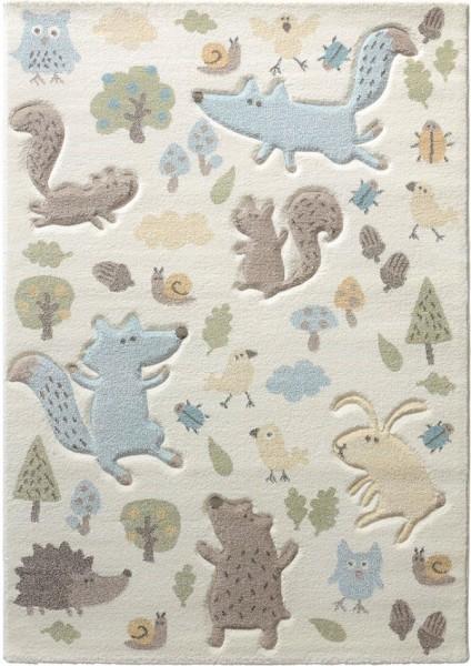 Kinder Teppich Sigikid Forest SK-21965-060 weiß