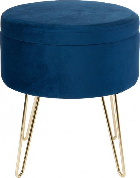Hocker / Tisch / Ablage Obsession Glamour Stool 222 navy / blau