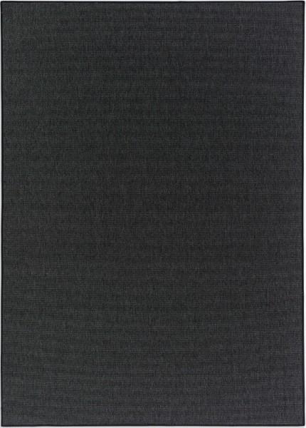 Kurzflor Designer Teppich Schöner Wohnen Galya 6308 190 040 anthrazit / Bordüre 044 schwarz