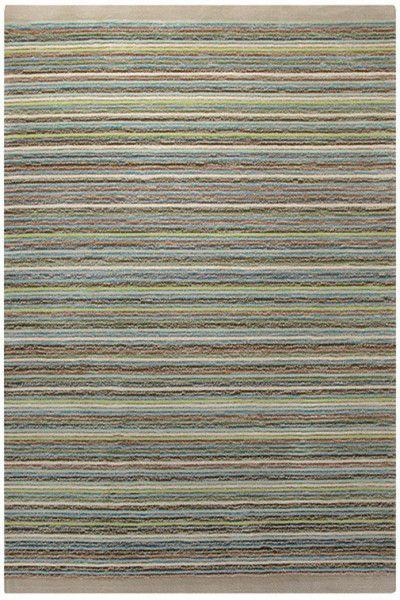 Kurzflor Designer Teppich Esprit Samba Stripes ESP-3623-03 sand