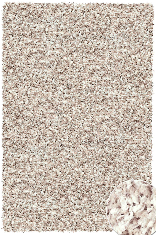 hochflor shaggy teppich twilight 2211 weiss beige raum. Black Bedroom Furniture Sets. Home Design Ideas