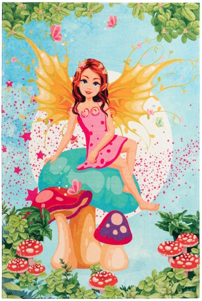 Kinder Teppich Obsession Juno 475 Fairy multicolor