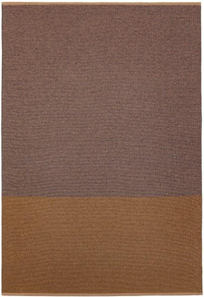 Indoor / Outdoor Teppich Brita Sweden Moor plum / beige blau (Gross)
